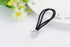 Style Fashion Four Little Pearl Hair Bands Girl Woman Hair Accessories Hair rubber2 as picture
