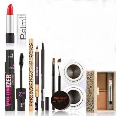 6pc Makeup   Party Gift Gel Eyeliner Eye Liner Pen Eyebrow Pencil Lipstick Eyebrow Powder Mascara as picture
