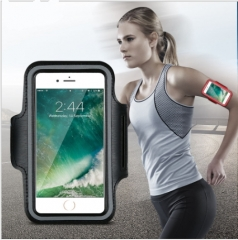 Waterproof Sport Armband Case  Gymnasium Activities Accessories Running Phone  Arm Package black 16.5*6.3