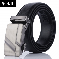 NATA-21 Valentine's Gift Casual Mens Leather Belts Automatic Belt Buckle black 3.8*120
