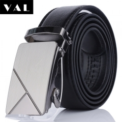 NATA-22 Valentine's Gift Casual Mens Leather Belts Automatic Belt Buckle black 3.8*120