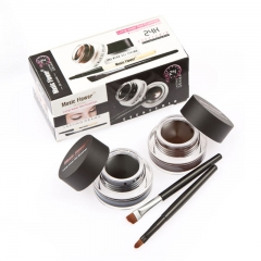 2 in 1 Make Up Water-proof Smudge-proof Set Eye Liner Kit in EyeLiner as picture