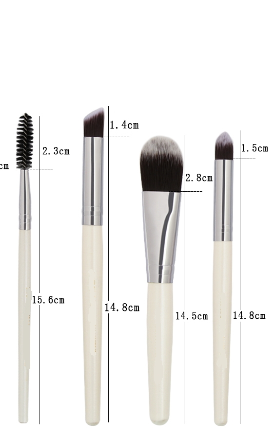 20 Pieces/lot Makeup Brushes Women Face Eyes Make up Sets & Kits Cosmetic Tool pink&gold 6