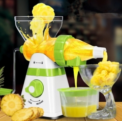 High Quality Home Manual Juicer Fruit Squeezer  Healthy Natural Fruit Juice  Operate Ice Cream as picture AS PICTURE
