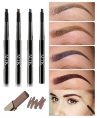 3PCS Eyebrow Waterproof Eyes pencil Long Lasting Makeup Make Up Eyebrow Pen as picture