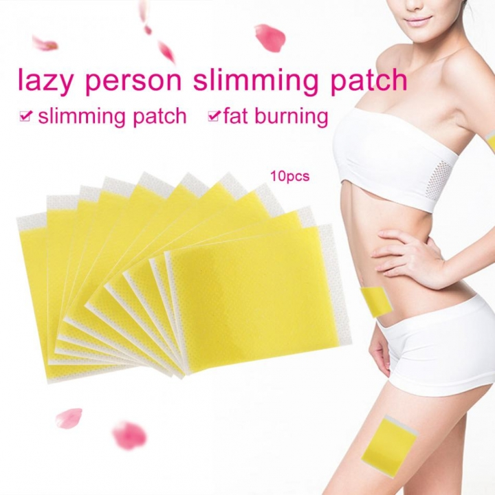 10Pcs Slimming Patch Fat Burning Patches TSleeping Slim Patches Weight Loss Stickers as picture