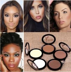 Dark Skin Cosmetic Bronzer Blush Makeup Brightener Matte Minerals Whiten Highlighting Face Powder 02