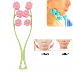 Portable Face Lift Massage Roller Anti Wrinkle Face-Lift Slimming Face Face Shaper Relaxation as picture