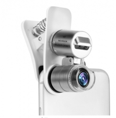 Universal 3-LED Mobile Phone Microscope Macro Lens 60X Optical Zoom Magnifier Micro Camera as picture as picture