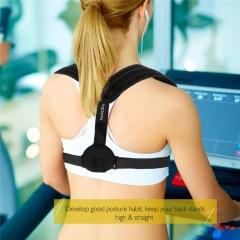 Upper Back Posture Corrector Clavicle Support Belt Back Slouching Corrective Posture Correction as picture