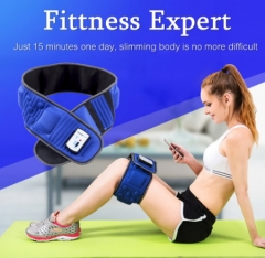 Slimming Belt Electric Weight Lose  Massage Burning Fat Lose Weight Shake Belt Waist Trainer AS PICTURE AS PICTURE