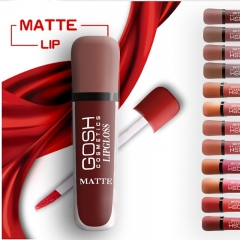 12 colors/set Matte Lipstick Waterproof Makeup Lip Gloss Liquid  Long Lasting Lipgloss Cosmetics as picture