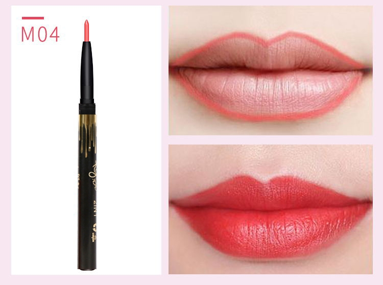 6 Color/SET Professional Waterproof Long-lasting Lip Liner Pencil Set Lipliner  Cosmetic as picture 9