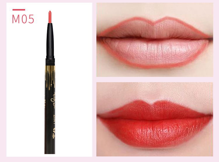 6 Color/SET Professional Waterproof Long-lasting Lip Liner Pencil Set Lipliner  Cosmetic as picture 12