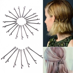 60pcs Popularity Simple Hairpin For Hairdresser Clips Tools Hair Clip For Hair Accessories Straight as picture