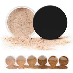 Makeup Powder 3 Colors Loose Powder Face Makeup Waterproof Loose Powder Skin Finish Powder 03