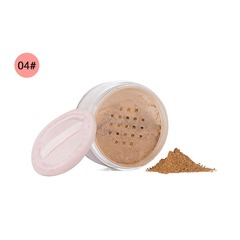 Makeup Powder 3 Colors Loose Powder Face Makeup Waterproof Loose Powder Skin Finish Powder 04