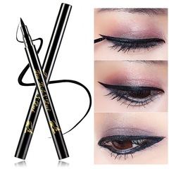 Make up Cat Style Black Long lasting Waterproof Liquid Eyeliner Eye Liner Pen Pencil Makeup Cosmetic as picture