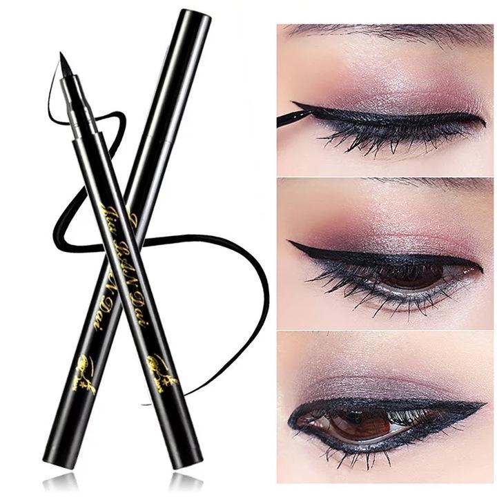 Make up Cat Style Black Long lasting Waterproof Liquid Eyeliner Eye Liner Pen Pencil Makeup Cosmetic as picture