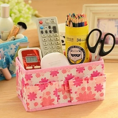 Multifunctional Folding  Make Up Desktop Cosmetic Organizer Storage Box  Organizer for Scarfs Socks random 17.5*10*10
