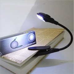 Led Book Light Mini Bright LED Lamp Light Book Reading Lamp For Travel Bedroom Book Reader Christmas RANDOM as picture as description