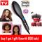 Straight Hair Straightener Comb Digital Electric Straightening Hair Dryer Brush as picture 27.5cm*7cm*4cm