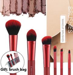 6 Pcs Makeup Brushes Superior Professional Soft Cosmetics Makeup Brush Set black