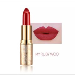 Valentine Gifts Lipstick Waterproof Long Lasting Lipstick Pencil Red Lip Stick Makeup Cosmetics 10-5 AS PICTURE