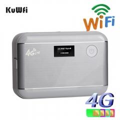 Unlocked 4G LTE WIFI Router Mobile WiFi Hotspot Portable 5200mAH Power Bank With Sim Card Slot&RJ45