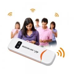 4G LTE Wireless Router 100Mbps Wifi Hotspot USB 2.0 4G Wifi Modem With SIM Slot
