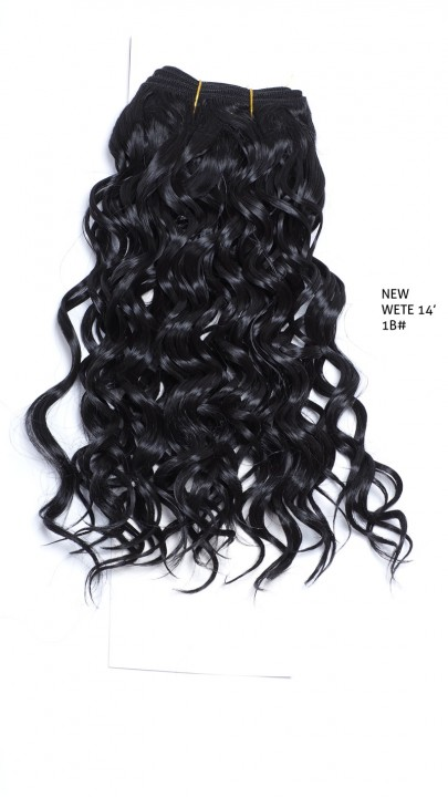 GREAT BEAUTY NEW WETE HAIR 14 inch COLOR No.1B