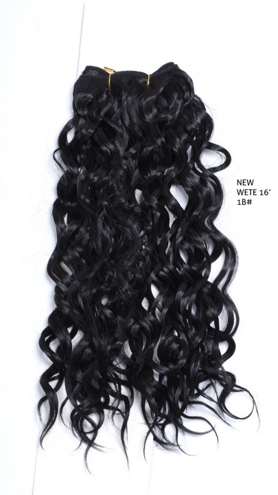 GREAT BEAUTY NEW WETE HAIR 16inch COLOR No. 1B