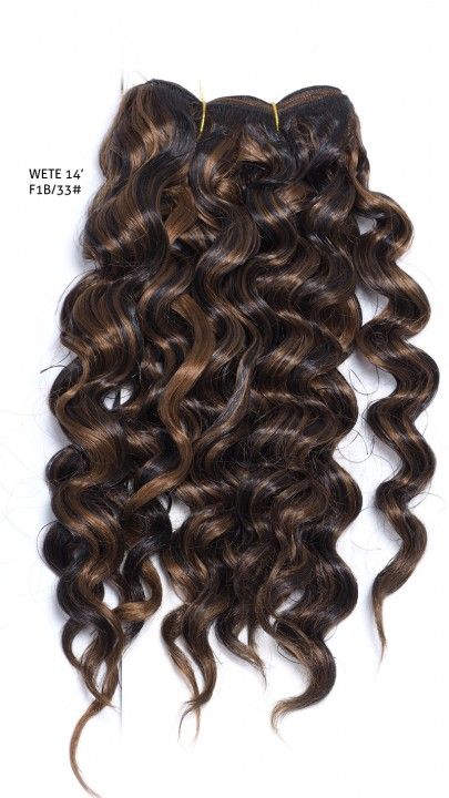 GREAT BEAUTY WETE HAIR 12 inch COLOR No. F1B/33