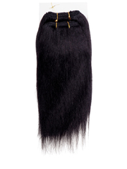 GREAT BEAUTY STW HUMAN HAIR 9 INCH COLOR #1B