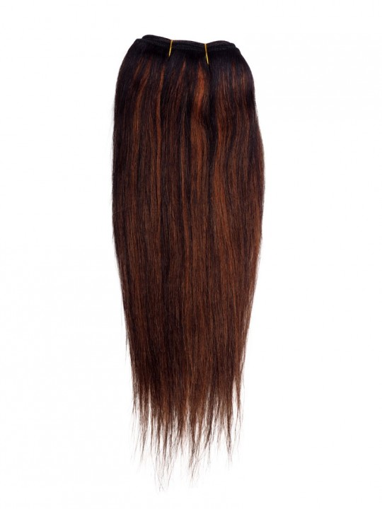 GREAT BEAUTY STW HUMAN HAIR 10INCH COLOR F1B/350#(BLACK PACKING CARD)