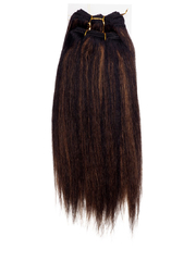 GREAT BEAUTY STW HUMAN HAIR 12 INCH COLOR F1B/30#(RED PACKING CARD)