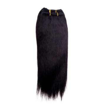 GREAT BEAUTY STW HUMAN HAIR 12 INCH COLOR #1B(RED PACKING CARD)
