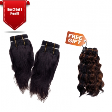 GREAT BEAUTY BRIZILIAN HUMAN HAIR 8 INCH