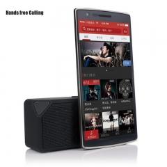 Wireless Bluetooth Mini FM SD USB Flash Drive Mic Bass Speaker black Bluetooth Speaker