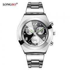 LONGBO Luxury Waterproof Women Watch Ladies Quartz Watch Women Wristwatch black
