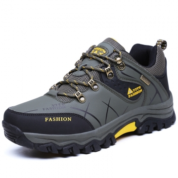 Men Ankle Boots Hike Non-Slip Climbing Outdoor Breathable Mountain Trial Trekking Shoes Waterproof army green 47