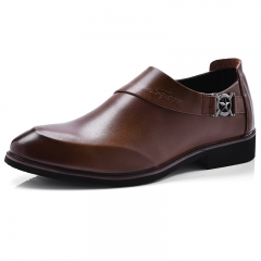 Men's Shoes Fashion Oxfords Business Shoes Casual Design Pointed Toe Dress Shoe black 42