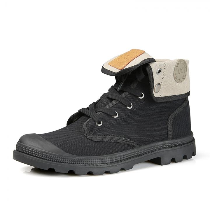 74f5d169773e New Fashion Boots Men Canvas Shoes Men Ankle Boots Casual Shoes High  Quality Men Work