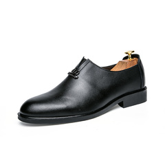 Mens Shoes Fashion Casual Shoes Breathable Dress Shoes Slip On Shoes black 39
