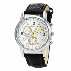 Men's Watch Dress Watch Elegant Style Quartz Wrist Watch Black/