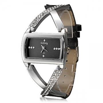 Women's Watch Fashionable Cross Style black