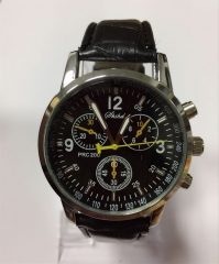 Men's Dress Watch Elegant Style Quartz Cool Watch black