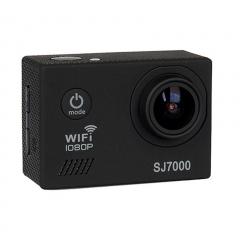 SJ7000 Action Camera Wifi Waterproof Outdoor Sports Camcorder Helmet Riding Recorder Black 25cm*12cm*6cm