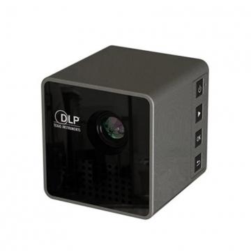 UNIC Home/Office Portable Mini WiFi Micro Led Dlp Smart Phone Projector Home Media Theatre black 5CM