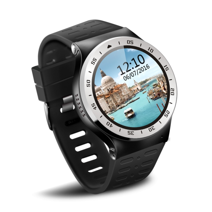 Zgpax Android 5.1 Touch Screen Smart Watch Phone With Bluetooth WiFi Camera SIM GPS Install App SILVER 3
